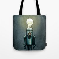Mr. Bulb Tote Bag