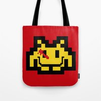 Who Watches The Invaders… Tote Bag