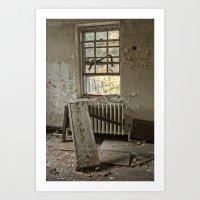 Tilted Room Art Print