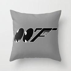 Mr. F (b) Throw Pillow