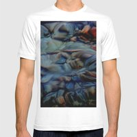 Transparency Mens Fitted Tee White SMALL