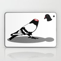 Pigeon And Head Laptop & iPad Skin