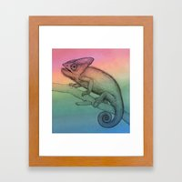 Chameleon (3) Framed Art Print