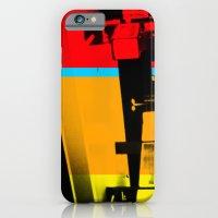 iPhone & iPod Case featuring Aberration Station by alex lodermeier