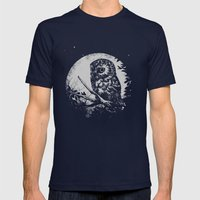 Friend of the Night Mens Fitted Tee Navy SMALL