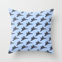 Avro Vulcan Bomber Throw Pillow