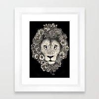 King Of Blooms 2 Framed Art Print