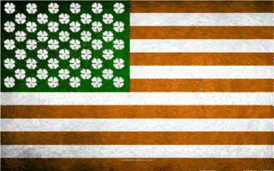 Irish American 015 Art Print