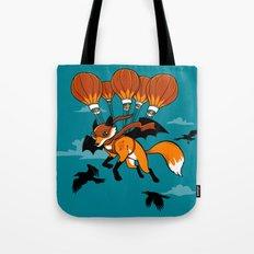 Pterovulpine Tote Bag