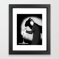 When Boredom Strikes Framed Art Print