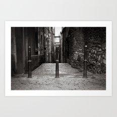 Edinburgh IV. Art Print