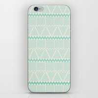 sierra aguamarina iPhone & iPod Skin