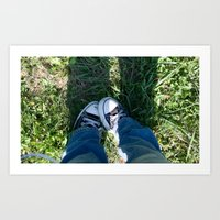 I love Chucks Art Print