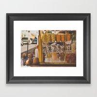 Fruta Framed Art Print