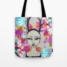 Fawn Woodland Gal Tote Bag