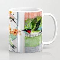 Hummingbirds And Trumpet… Mug