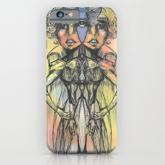 The Colored Butterfly Duo iPhone & iPod Case