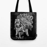 Serpent Warrior Tote Bag