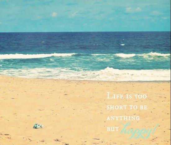 Life is too Short Art Print