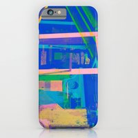 Industrial Abstract Blue 2 iPhone 6 Slim Case