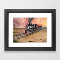 Southwest Journey Framed Art Print