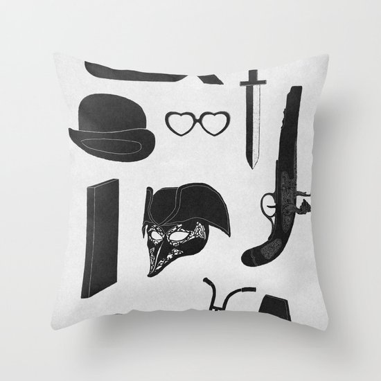 2011: A Kubrick Odyssey Throw Pillow