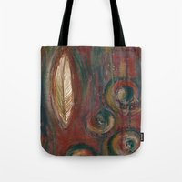 Zen Feather Tote Bag