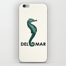 Caballito del Mar iPhone & iPod Skin