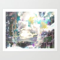 Prism Bubble Bursting Art Print