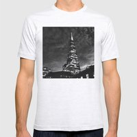 Tower Mens Fitted Tee Ash Grey SMALL