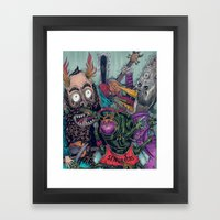 Sid Squish And The Death… Framed Art Print