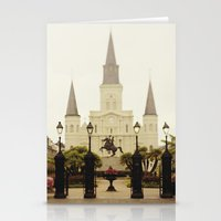 New Orleans Looking Thro… Stationery Cards