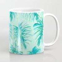 Paradise Palms Mint Mug