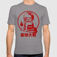 Empire - Convert - Star … Mens Fitted Tee Tri-Grey SMALL