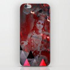 Krishna Reprise - The Hindu God iPhone & iPod Skin