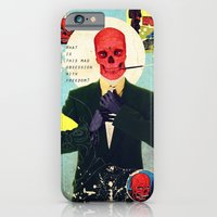 iPhone & iPod Case featuring What Is This Mad Obsession With Freedom? by Alec Goss