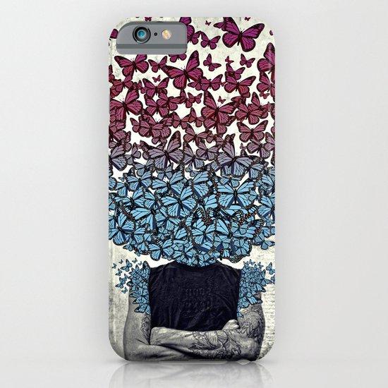 Butterflies In my head. iPhone & iPod Case