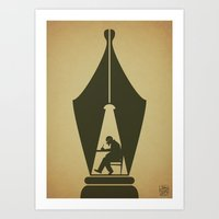 Write: It Enlightens You… Art Print
