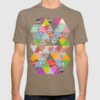 Lost in ▲ Mens Fitted Tee Tri-Coffee SMALL