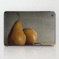 Brown Pears iPad Case
