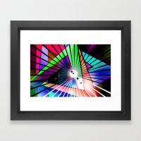Laptop Motiv 9. Framed Art Print