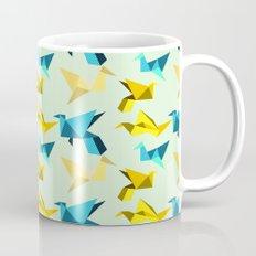 paper cranes in flight Mug