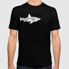 Shark X-Ray SMALL Mens Fitted Tee Black