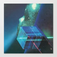 Gleaming The Cube Canvas Print
