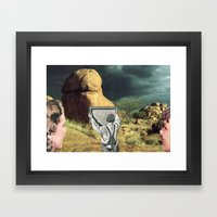 Trying To Change Nature,… Framed Art Print