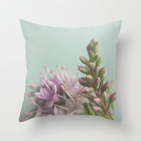 Floral Variations No. 3 Throw Pillow