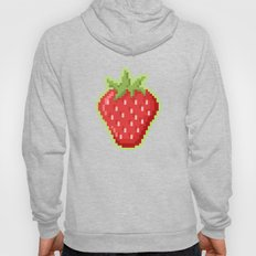 Pixel Strawberry Hoody
