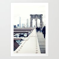 People Dreams, New York Art Print