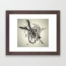 Eyes Open Framed Art Print