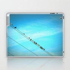 Birds on a Line fine art photography Laptop & iPad Skin